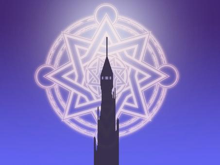 Tower 7 purple
