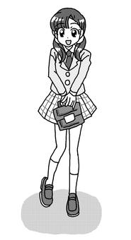 Blazer girl
