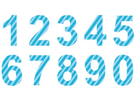 Number (aqua)