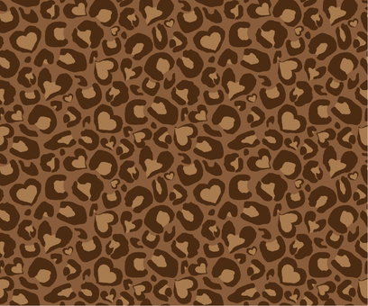 Leopard pattern _ dark brown