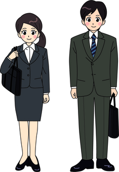 Men and women of suits
