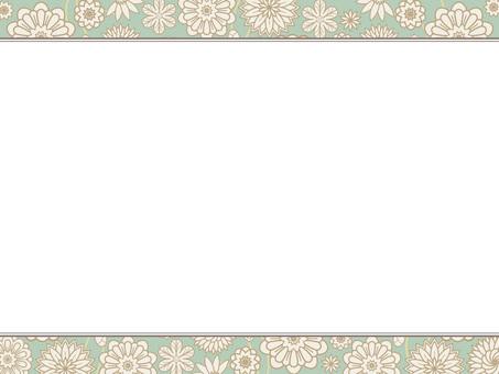 植物圖案框架6