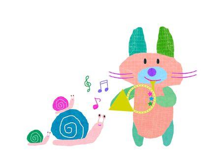 토끼와 호른
