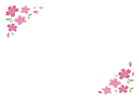 벚꽃의 틀