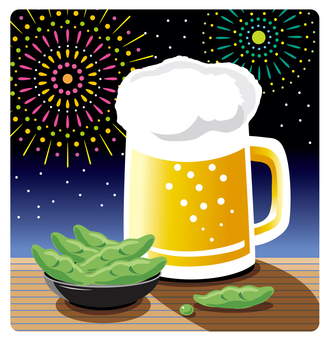 Beer and Edamame · Fireworks
