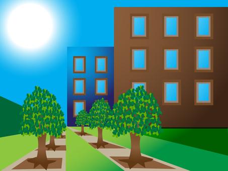 Sunny Campus 1600 × 1200px