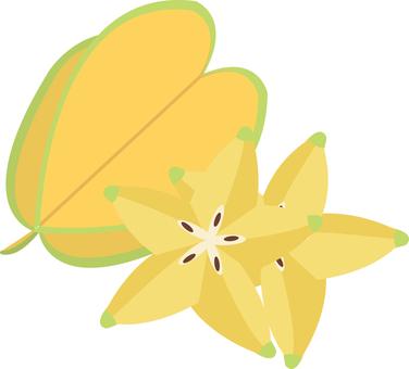 Food series fruit star fruits