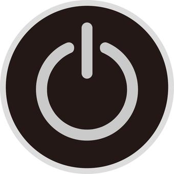 Power button (black)