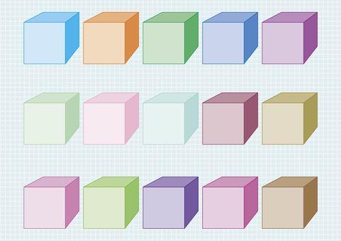 Square square various materials