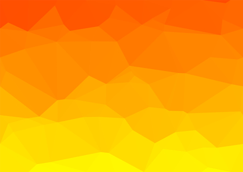 Orange digital polygon background material