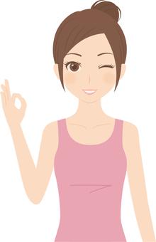 Female | Fitness | Tank Top | OK