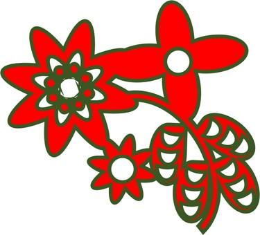 화초 (빨간색)