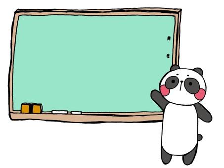 黑板和熊貓1 3