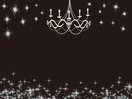 Diamond chandelier wallpaper