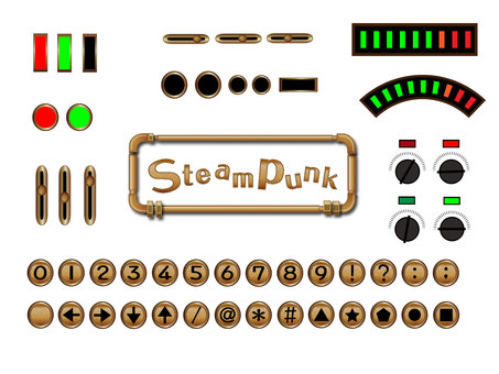 Steampunk item set