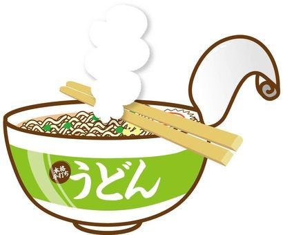 Cup noodles · udon