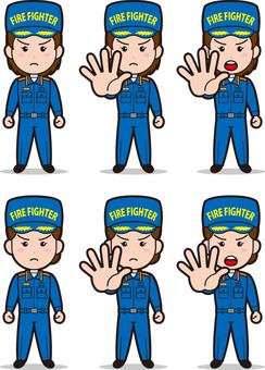 Fireman 4 (women's wear)
