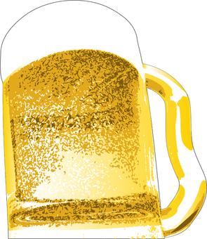 Beer (4 color illustration)
