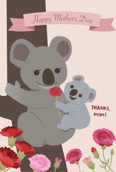 Mother's Day Card Koala