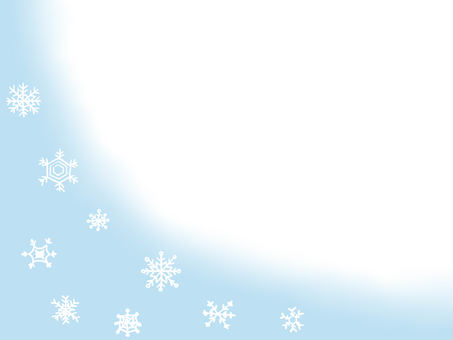Snow crystal (light blue)