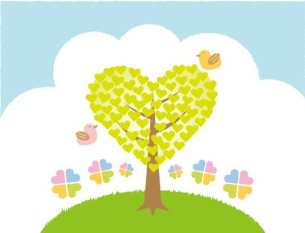 Heart tree 1