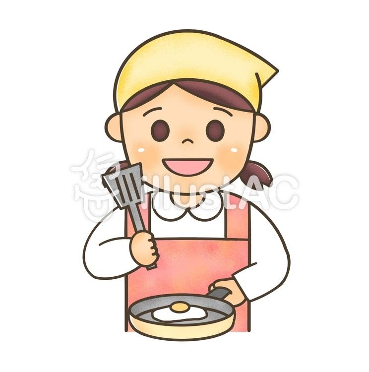 料理する女の子2イラスト No 1400463無料イラストならイラストac