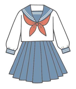 Sailor suit women's uniform