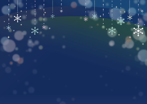 冬季場景背景·晚會版本