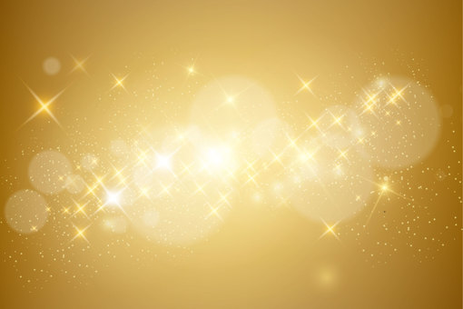 Glittering background gold
