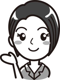 여성 02 프레젠테이션 03 그레이