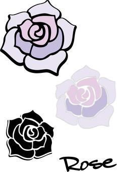 Fashionable roses