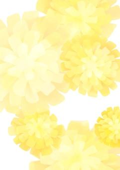 Dandelion watercolor wind