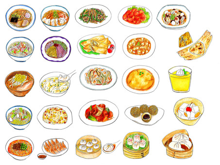 Chinese food summary