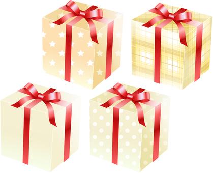 ai beige gift box