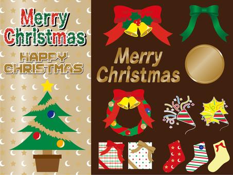 季節性聖誕節(各種材料)