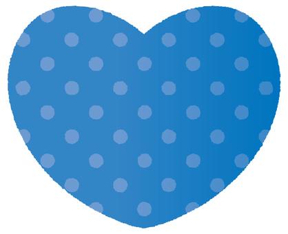 Heart - polka dots