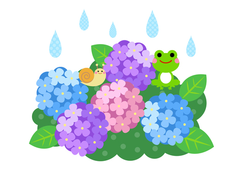 Rainy season image material 54