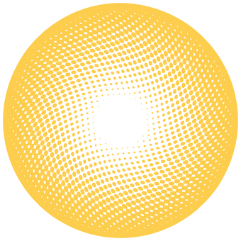 ドットグラデーション5・オレンジ