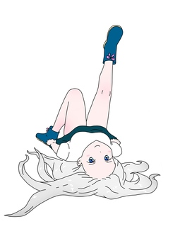Lie down and raise one leg
