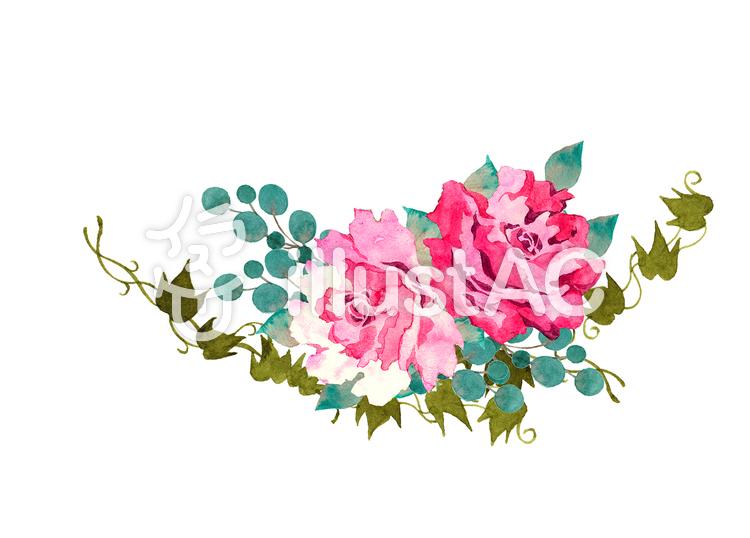 薔薇イラストのイラスト