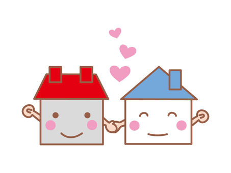 Home (neighborhood image to help each other)
