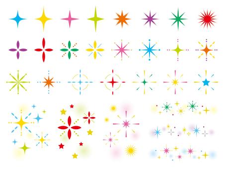 Glitter set _ 02 vivid color