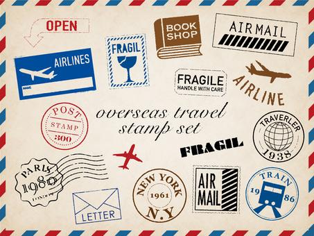 여행 스탬프