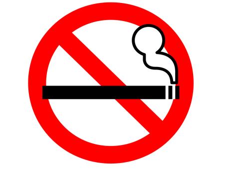Non-smoking mark