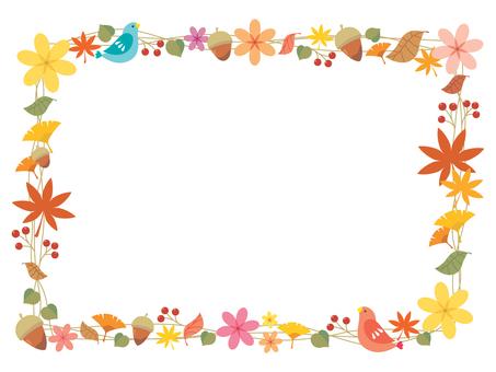 Fall natural frame