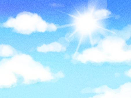 푸른 하늘
