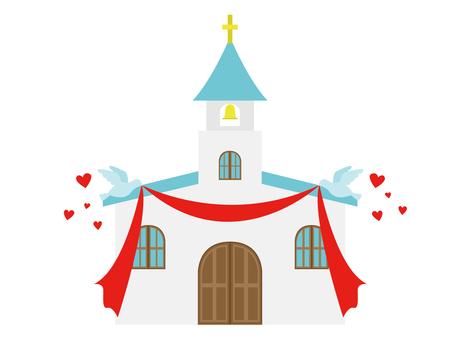교회 웨딩