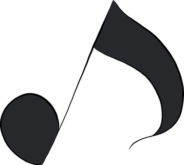 Free Cliparts : Note eighth note musics - 1063716 | illustAC
