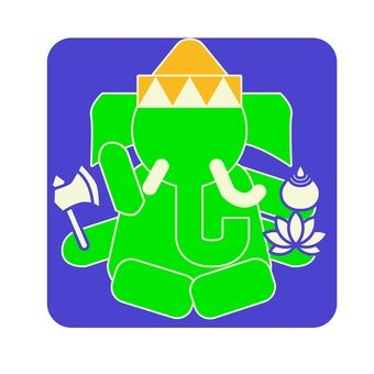 Pictogram of Ganesha