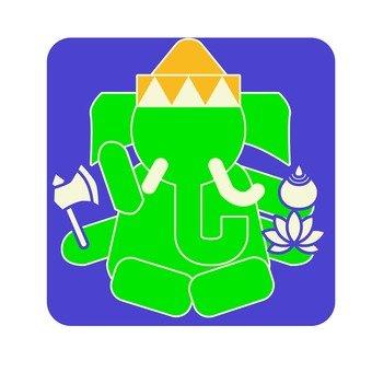 Pictogram of Ganesha